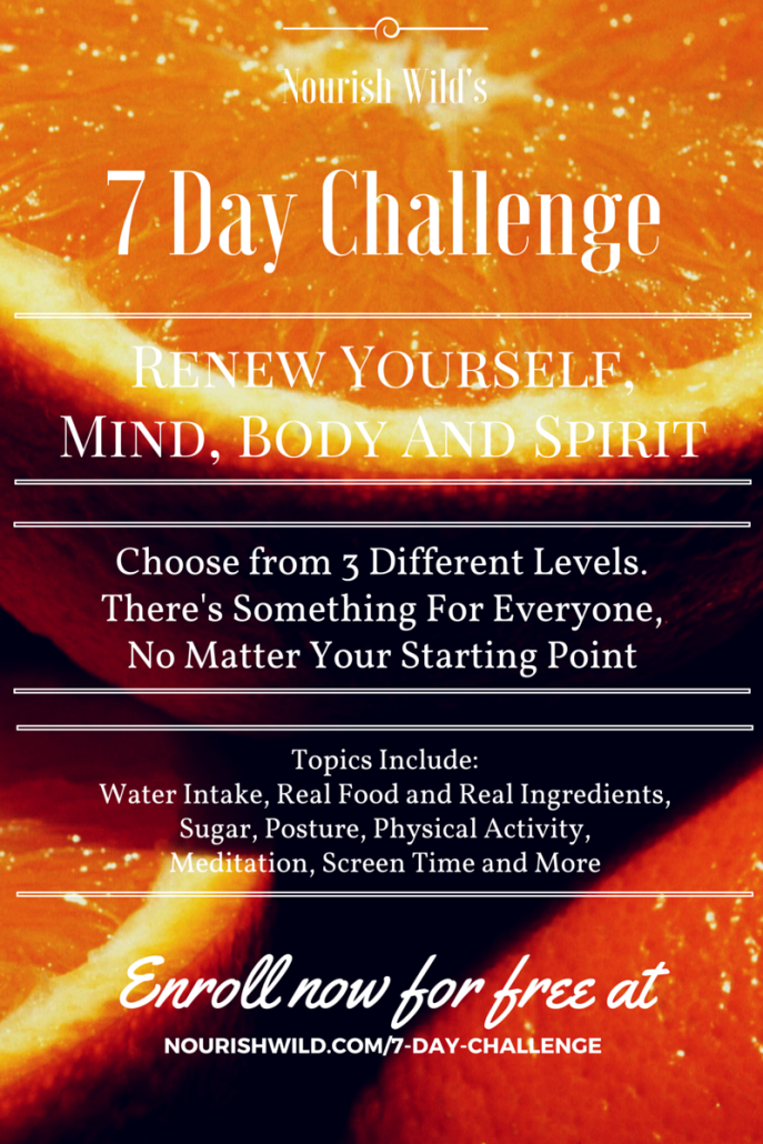 7 Day Challenge Poster